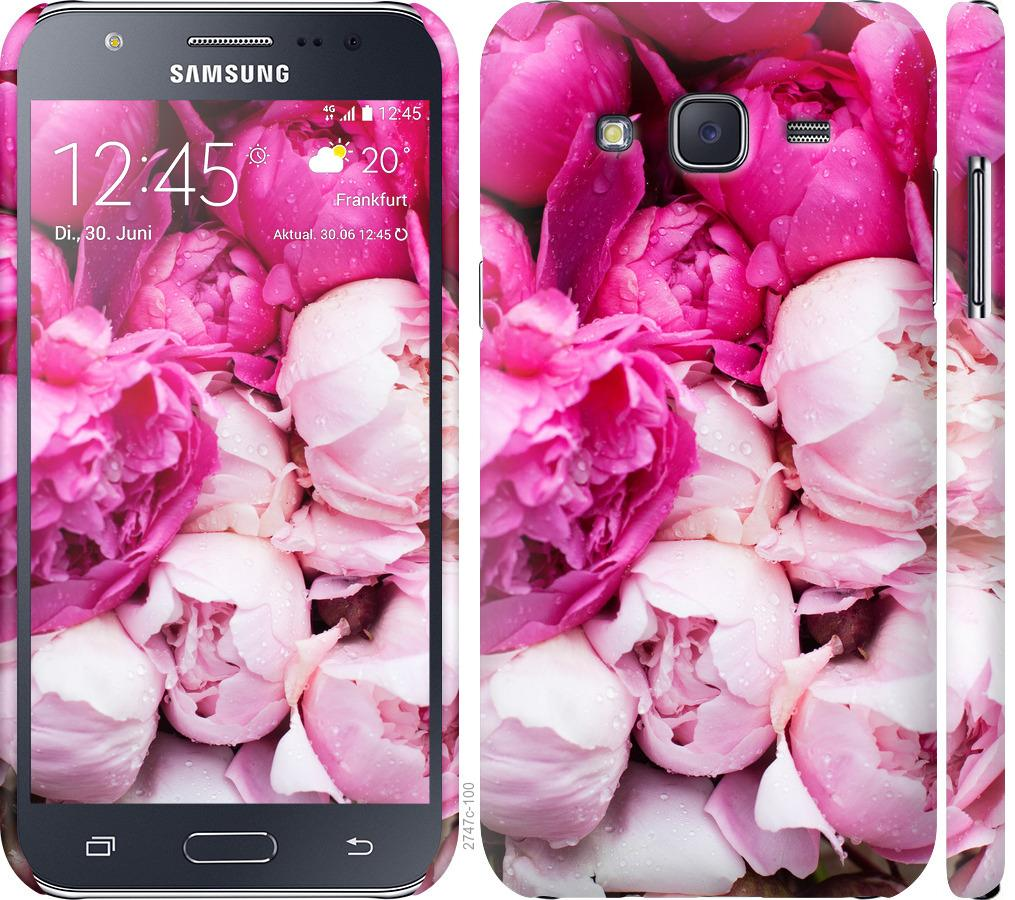 Чехол на Samsung Galaxy J5 (2015) J500H Розовые пионы