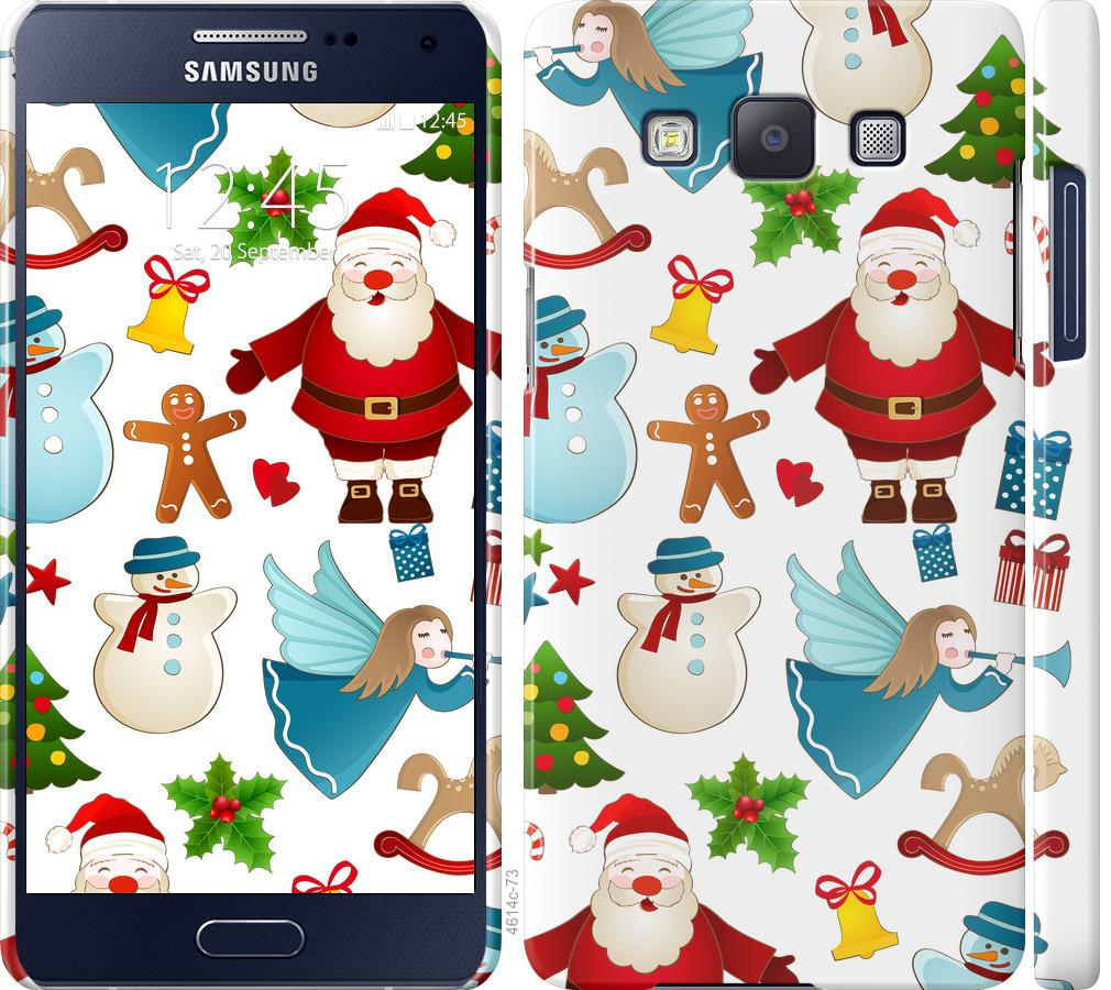 Чехол на Samsung Galaxy A5 A500H Новогодний 1