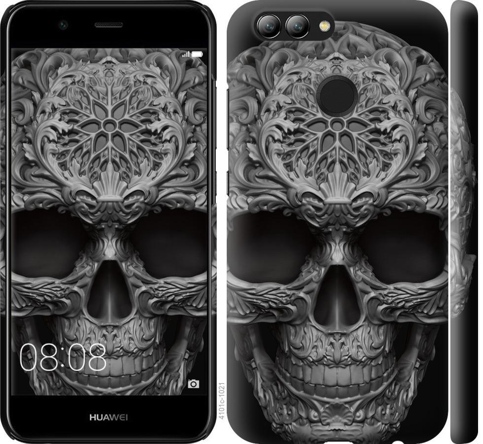 Чехол на Huawei Nova 2 skull-ornament