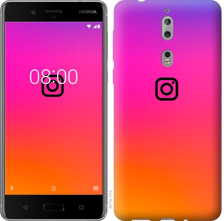 Чехол на Nokia 8 Instagram