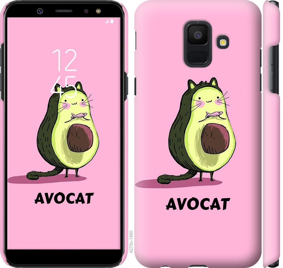 Чехол на Samsung Galaxy A6 2018 Avocat
