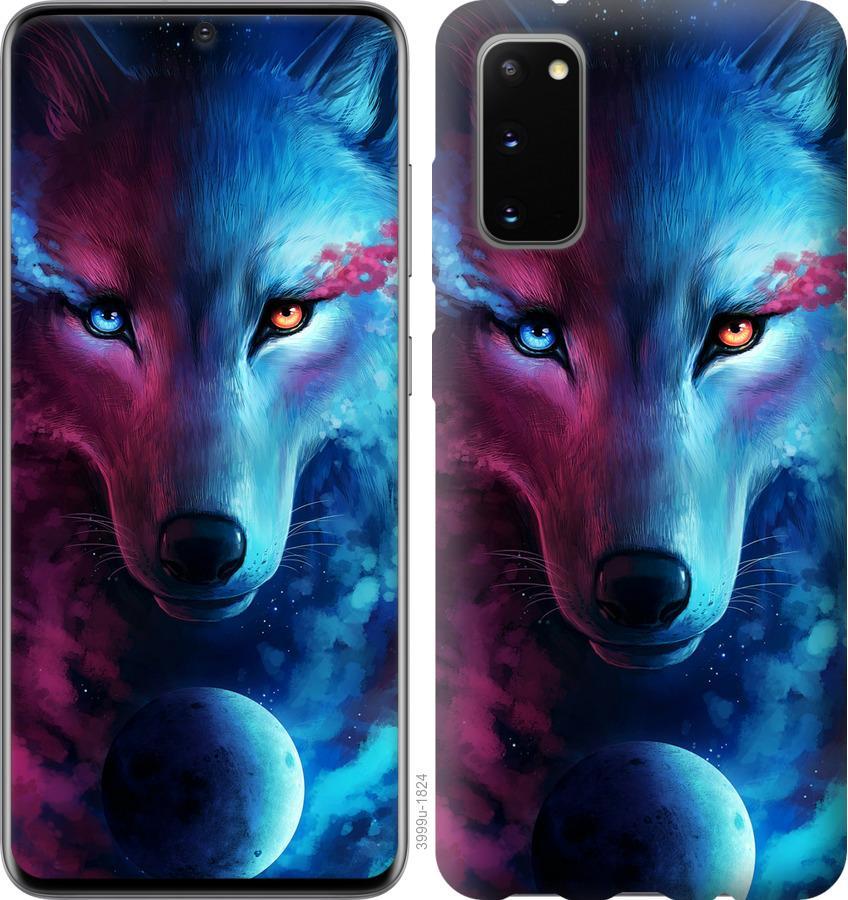 Чехол на Huawei Honor 30 Арт-волк