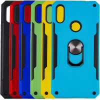 Ударостійкий чохол SG Ring Color магнітний тримач для Huawei P Smart Z