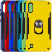 Ударопрочный чехол SG Ring Color магнитный держатель для Samsung Galaxy A10 (A105F)