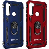 Ударопрочный чехол GETMAN Serge Ring for Magnet для Samsung Galaxy A21
