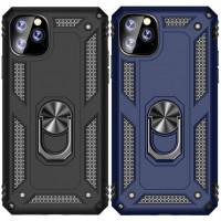 """Ударостійкий чохол Serge Ring магнітний тримач для Apple iPhone 11 Pro Max (6.5"""")"""