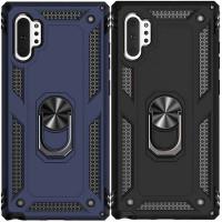 Ударопрочный чехол Serge Ring магнитный держатель для Samsung Galaxy Note 10 Plus