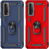 Ударопрочный чехол Serge Ring for Magnet для Huawei P Smart (2021)
