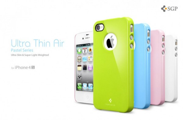 Накладка SGP Ultra Thin Air Pastel Series для Iphone 4 / 4S (+пленка)