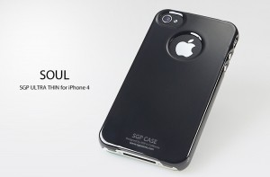 Накладка SGP Ultra Thin Air Vivid Series для iPhone 4S (+ пленка)