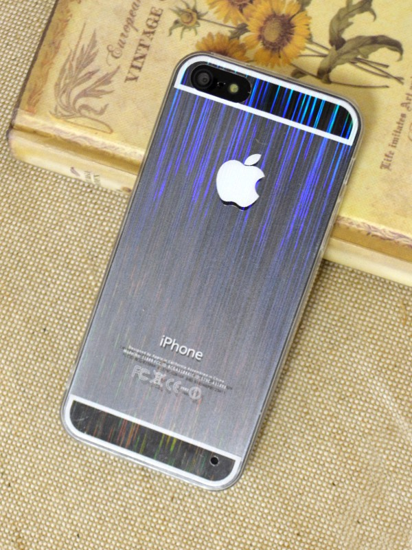 Ультратонкий TPU+PC чехол magic stripes для Apple iPhone 5/5S/SE