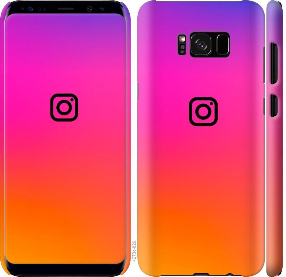 Чехол на Samsung Galaxy S8 Instagram