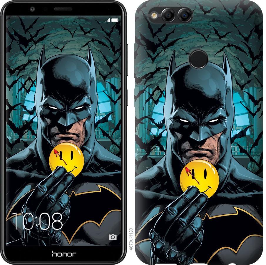 Чехол на Huawei Honor 7X Бэтмен 2