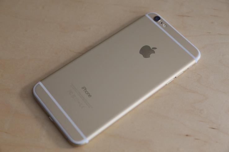 новый iphone 6S в алюминиевом корпусе