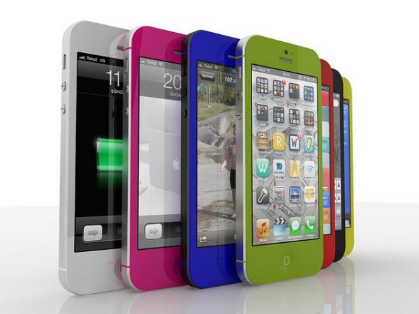 кожаный чехол для iphone 5S