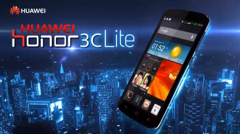 Honor 3C Lite обзор