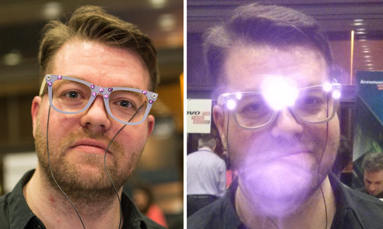 очки, защищающие от распознавания лица