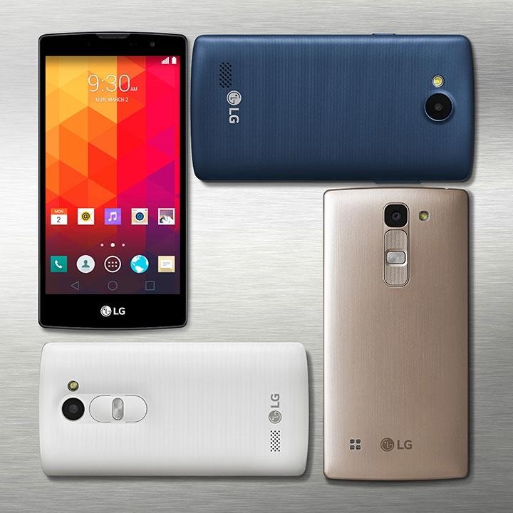 бюджетные смартфоны LG