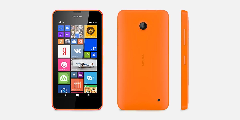 обзор Lumia 635