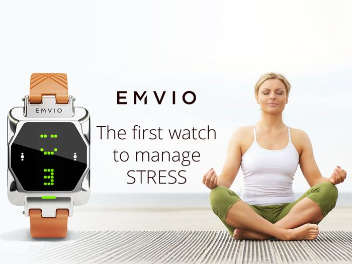 emvio - часы при стрессе