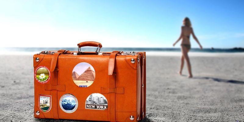 Sansonite чемодан