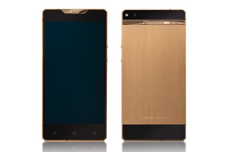 титановый смартфон Gresso Regal Gold