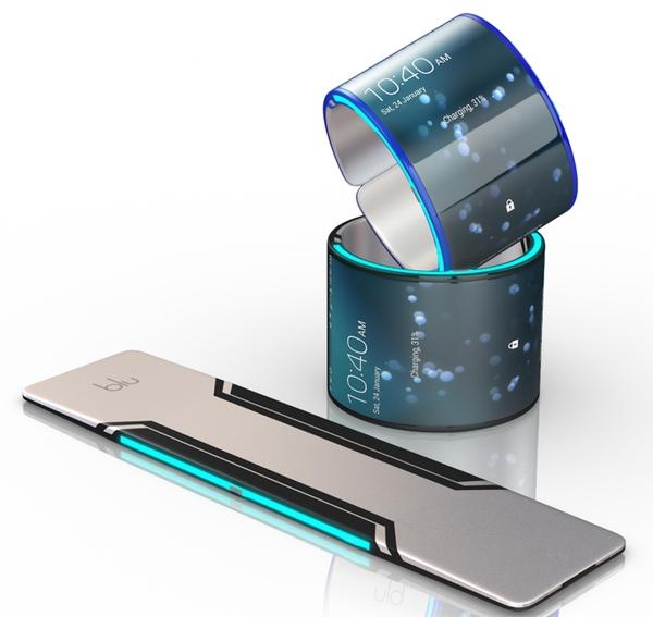 смартфон - браслет Blu