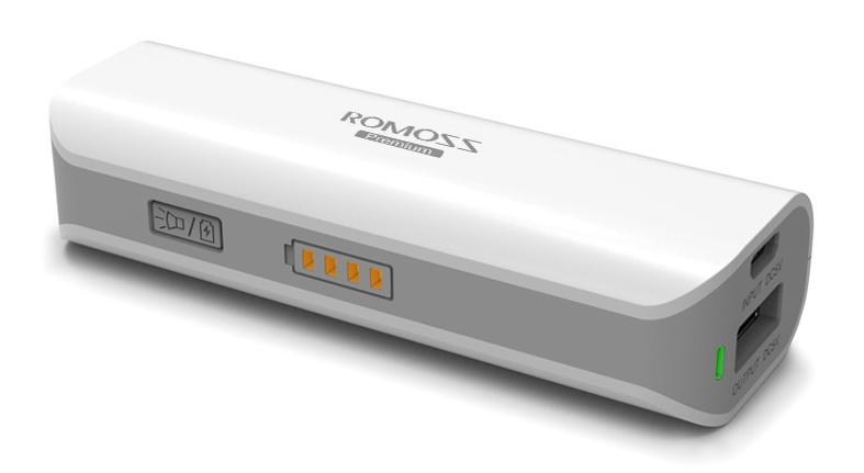 внешний аккумулятор ROMOSS Sailing