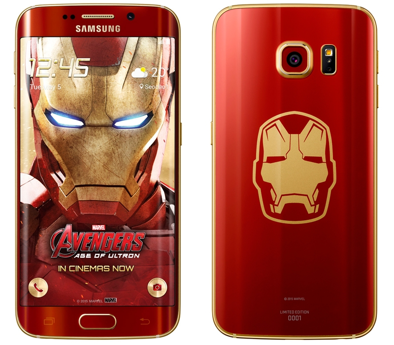 Galaxy S6 edge Iron Man Limited Edition железный человек