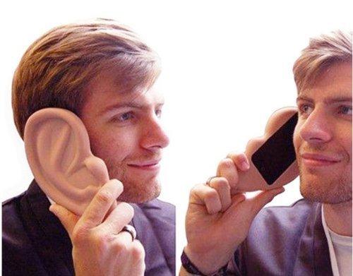 оригинальный чехол ухо для Apple iphone
