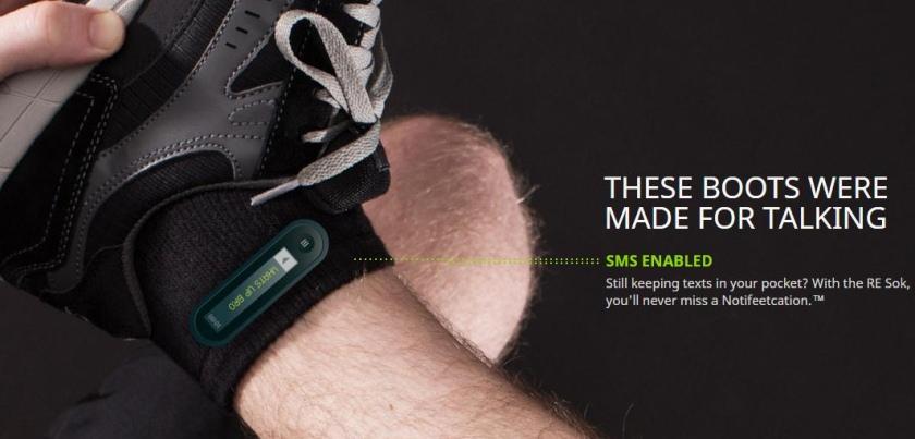 умные носки HTC