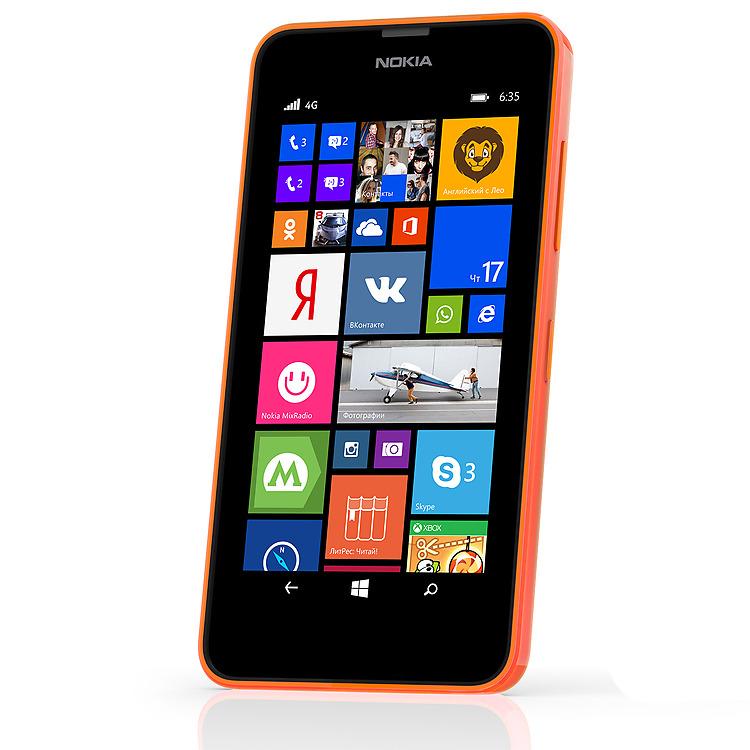 Nokia Lumia 635 с камерой 5 Мп