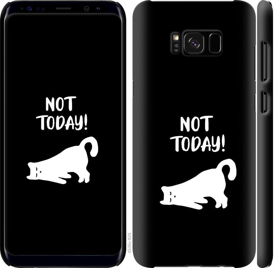 Чехол на Samsung Galaxy S8 Уставший кот