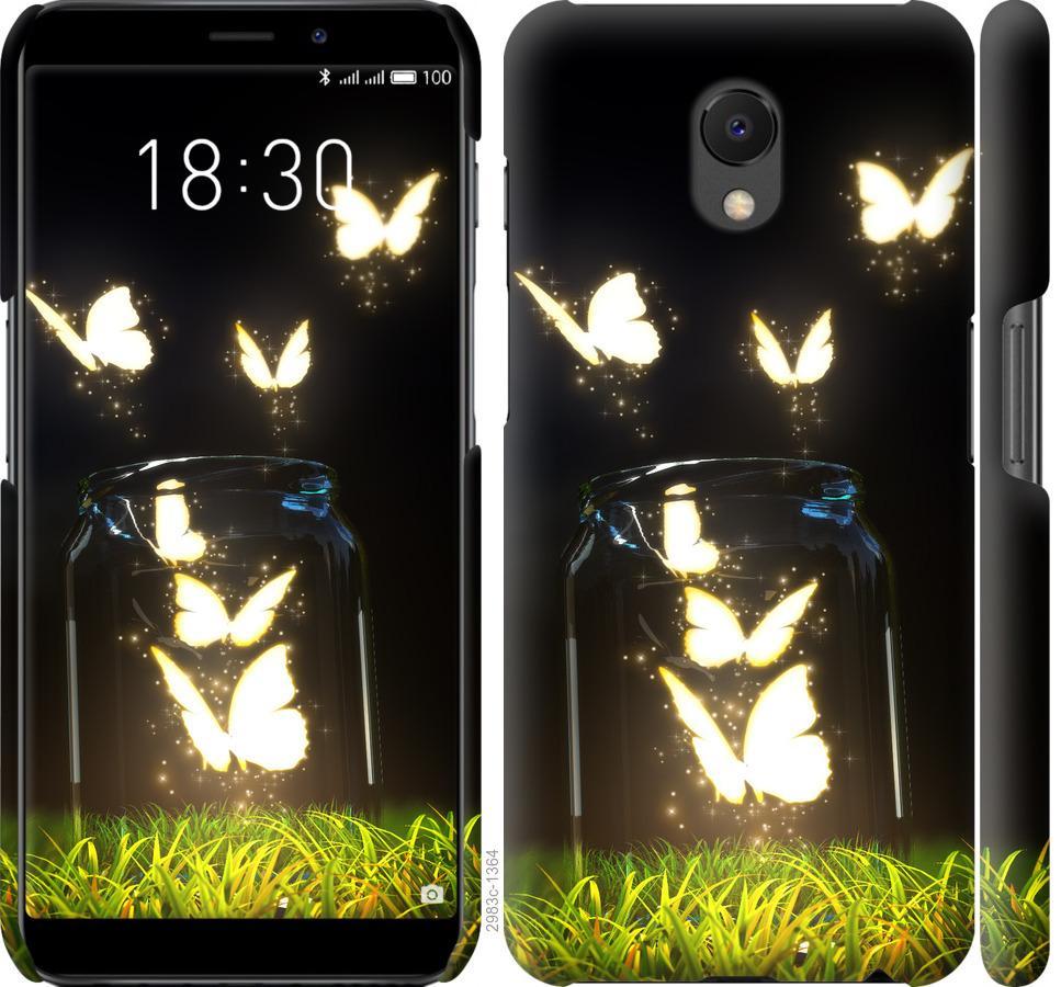 Чохол на Meizu M6s  Сяючі метелики