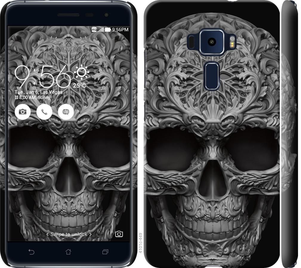 Чехол на Asus Zenfone 3 ZE520KL skull-ornament