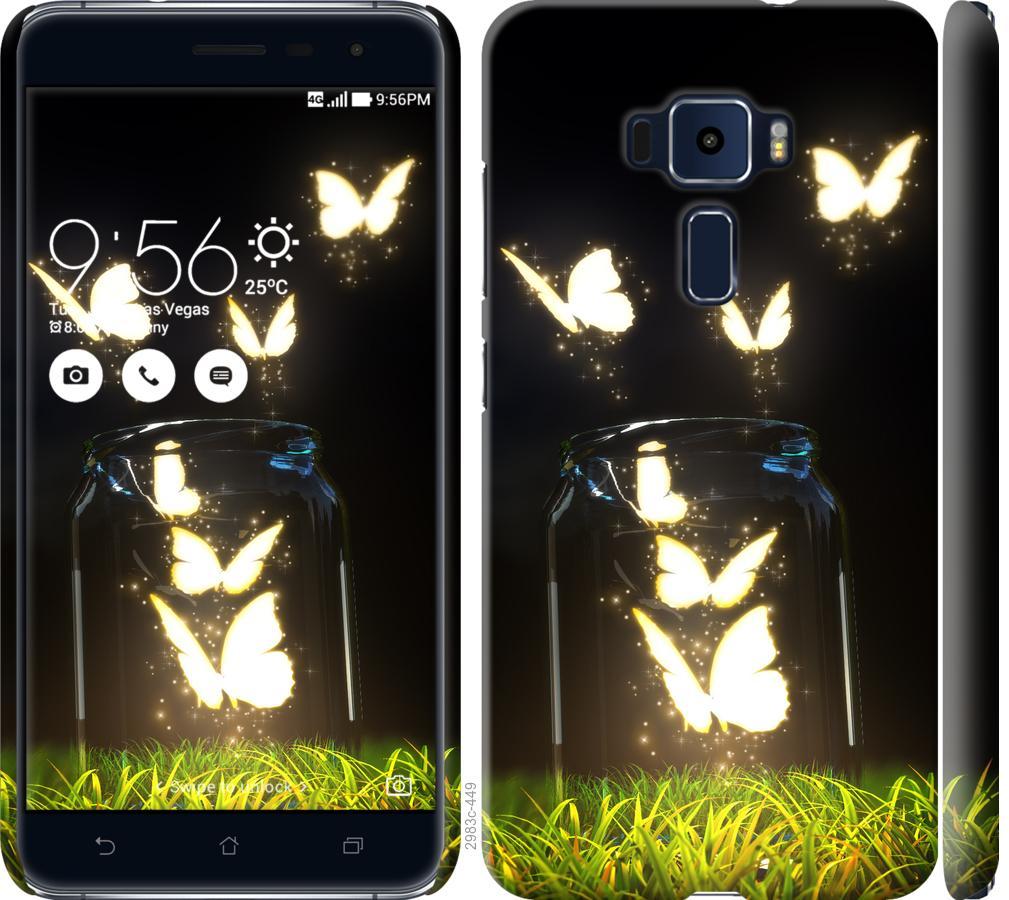 Чехол на Asus Zenfone 3 ZE520KL Бабочки