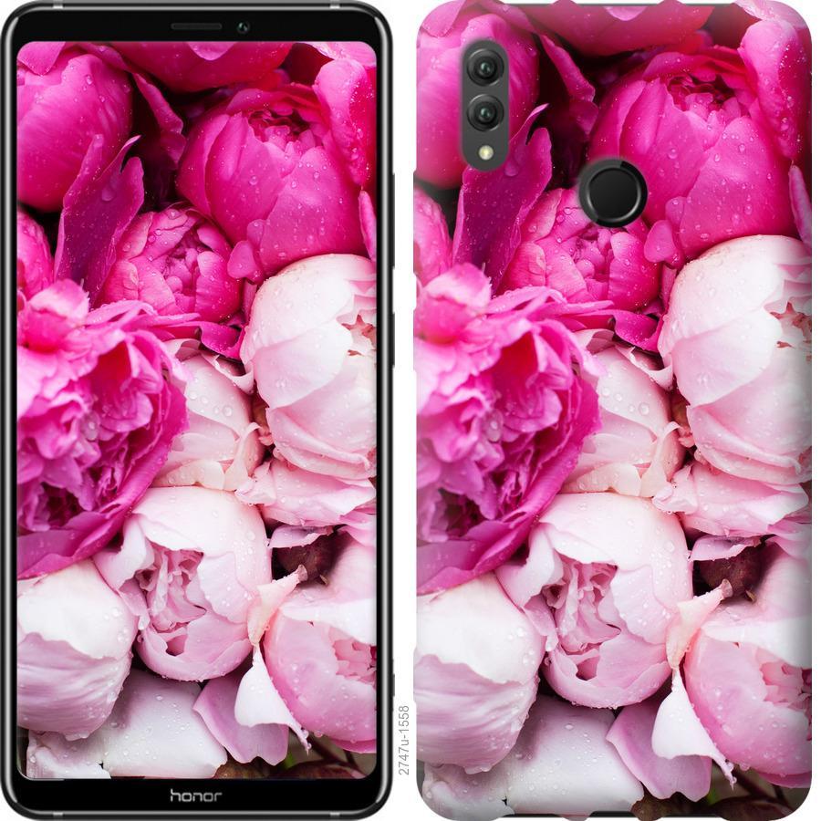 Чехол на Huawei Honor Note 10 Розовые пионы