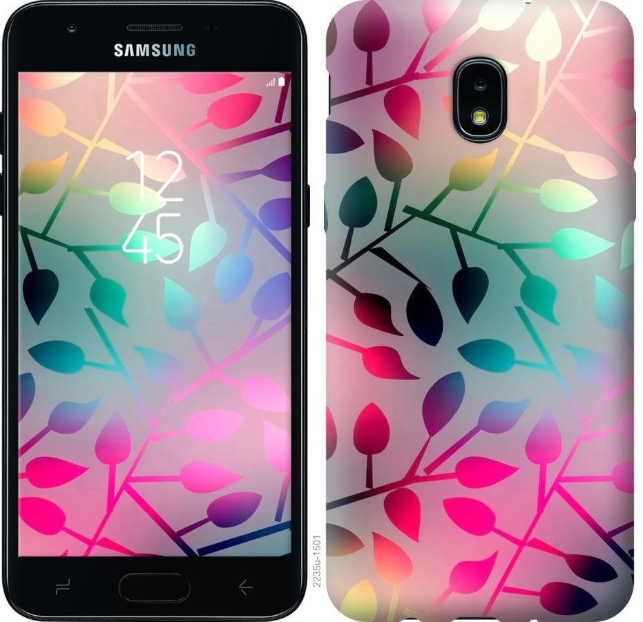 Чохол на Samsung Galaxy J3 2018  Листя