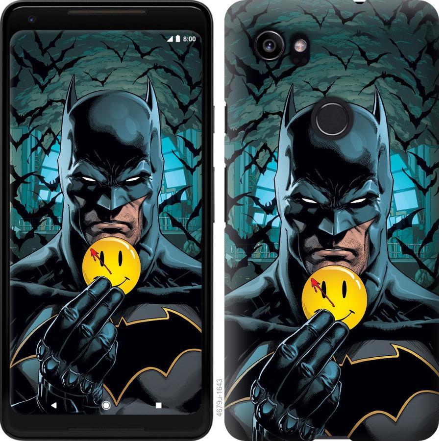 Чехол на Google PixeL 2 XL Бэтмен 2
