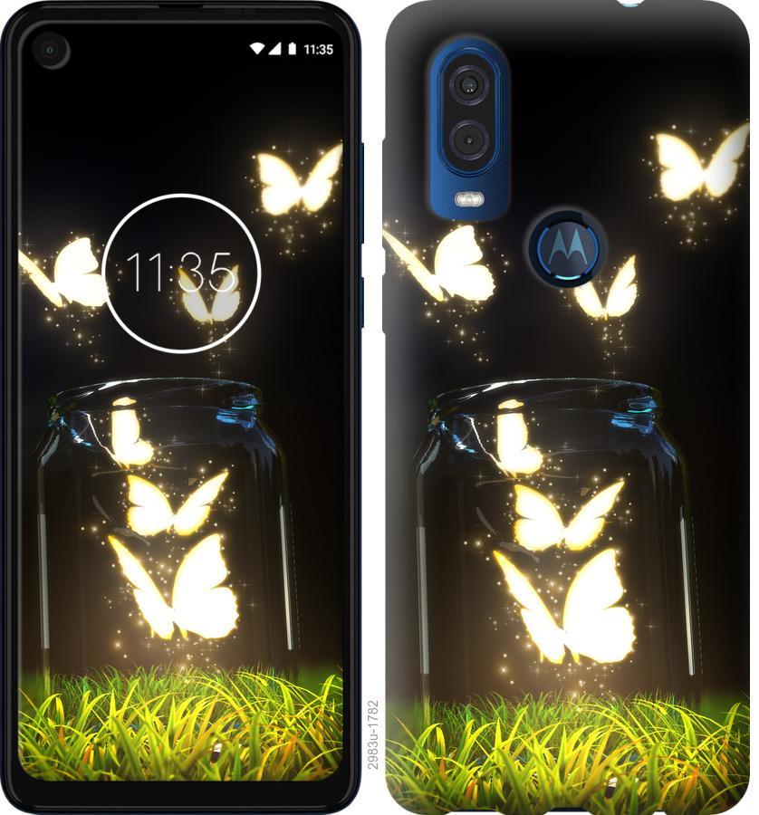 Чехол на Motorola One Vision Бабочки