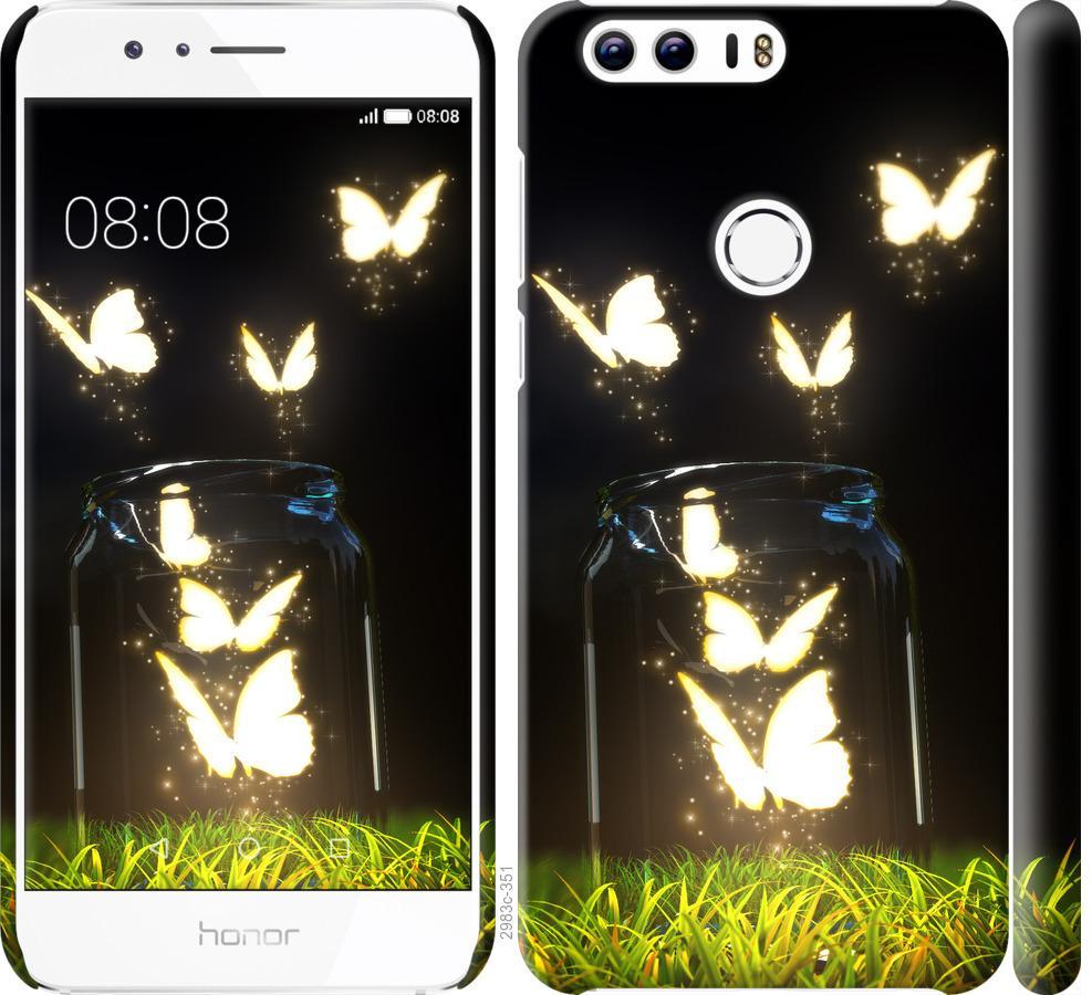 Чохол на Huawei Honor 8  Сяючі метелики