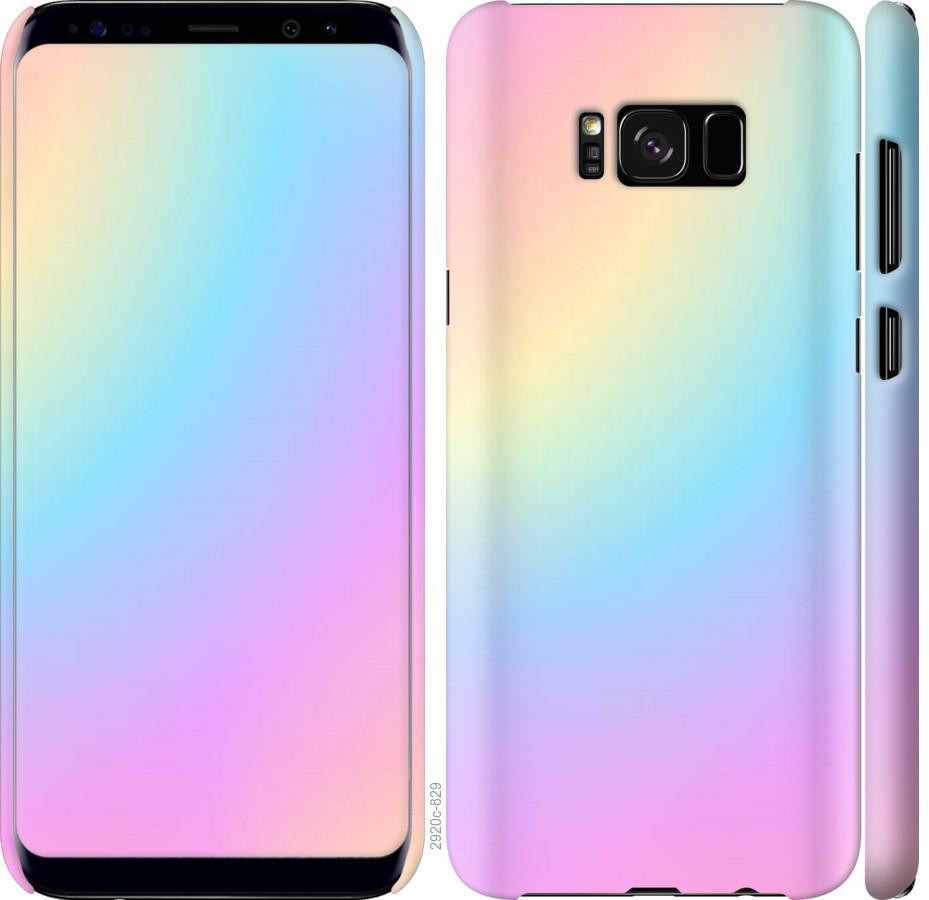Чехол на Samsung Galaxy S8 Радуга 2