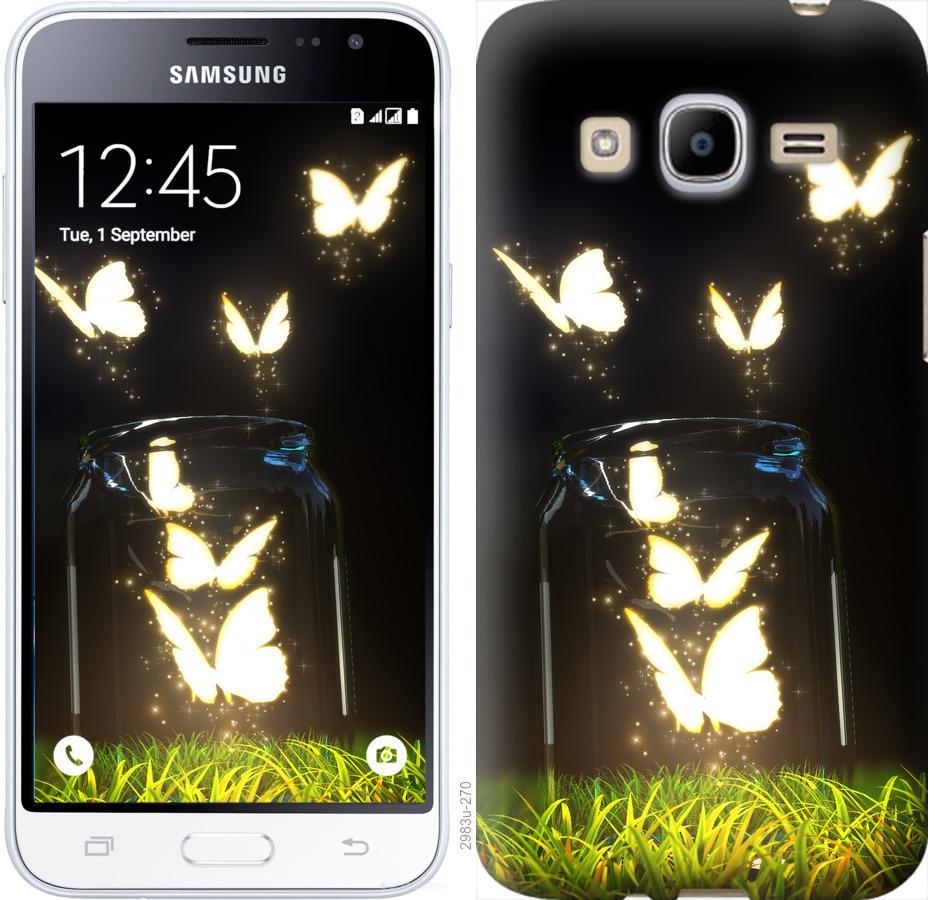 Чехол на Samsung Galaxy J2 (2016) J210 Бабочки