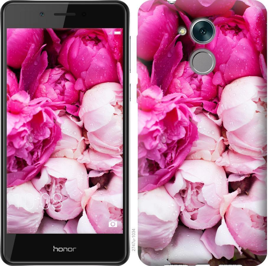 Чехол на Huawei Enjoy 6s Розовые пионы