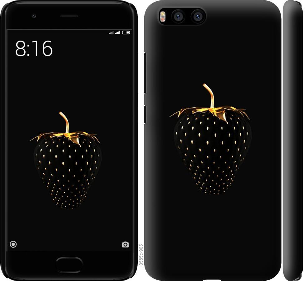Чехол на Xiaomi Mi6 Черная клубника