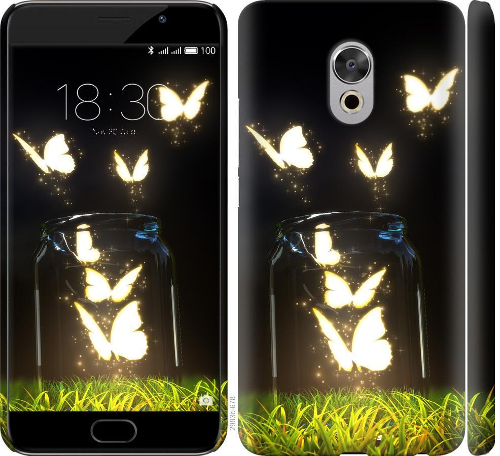 Чехол на Meizu Pro 6 Plus Бабочки