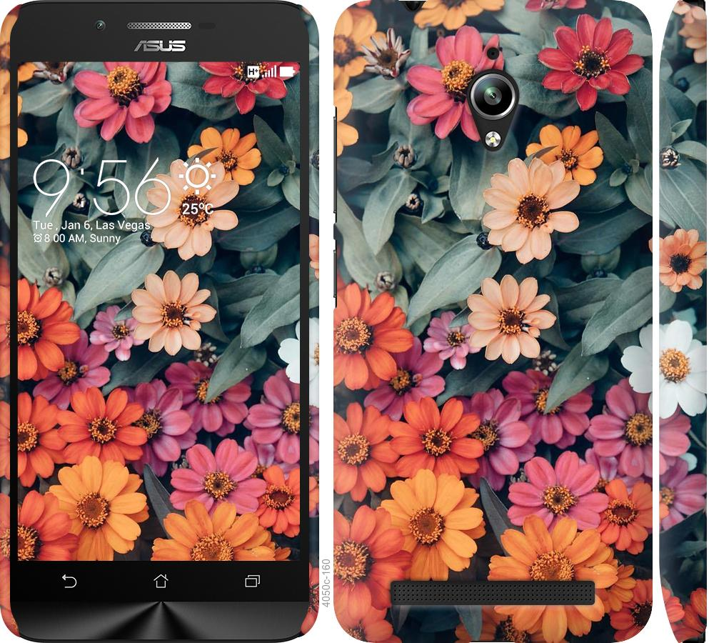 Чехол на Asus Zenfone Go ZC500TG Beauty flowers