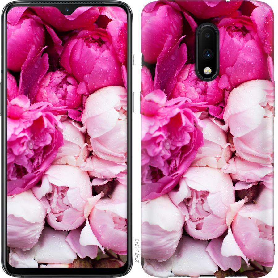 Чехол на OnePlus 7 Розовые пионы