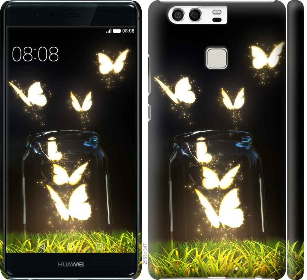Чехол на Huawei P9 Бабочки