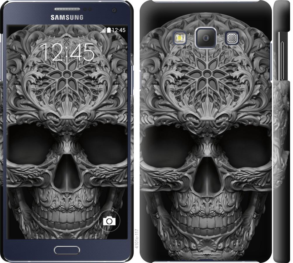 Чехол на Samsung Galaxy A7 A700H skull-ornament